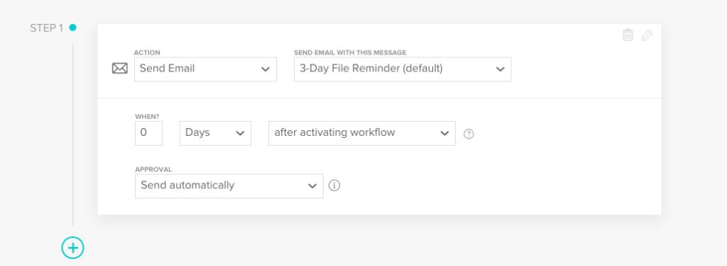 Honeybook workflow template